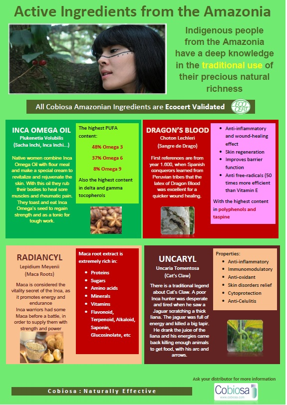 Active Ingredients from Amazonia