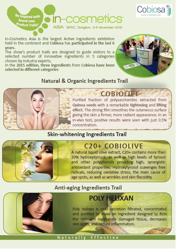 In Cosmetics Product Trails