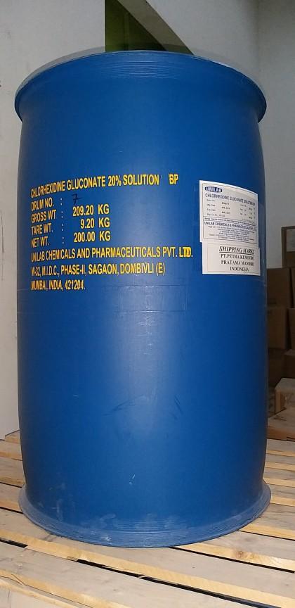 Chlorhexidine Gluconate 20% Solution BP